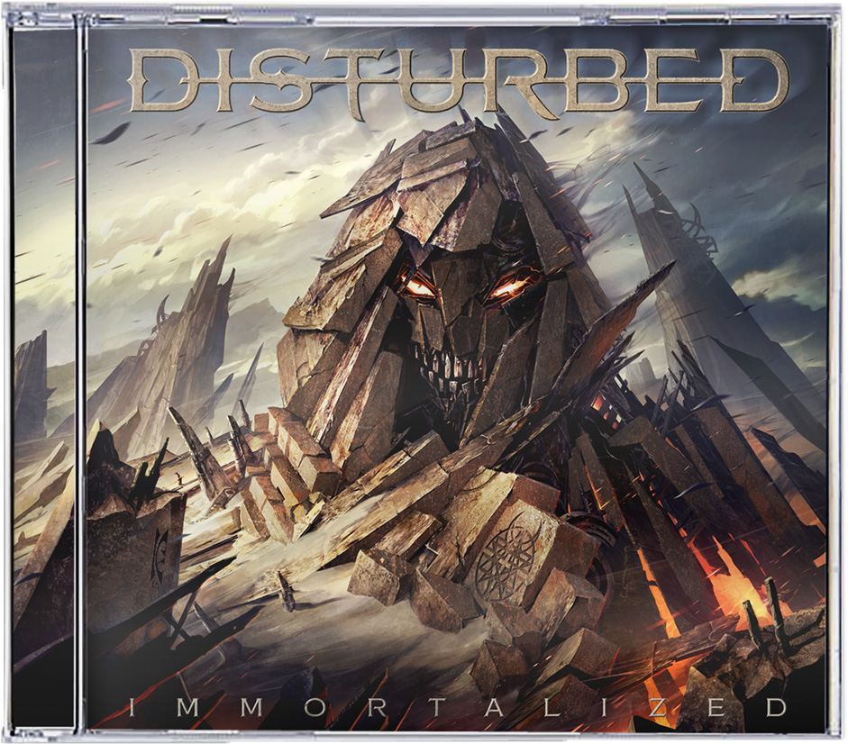 "Verdammt ist das Disturbed Album ""Immortalized"" gut!!!"